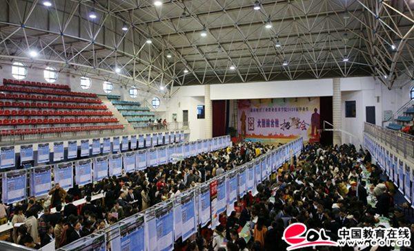 湖南財經工業職業技術學院舉辦2020屆畢業生校園招聘會