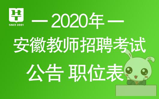 安徽中小学教师招聘考试网_2020淮北教师招聘公告|职位表