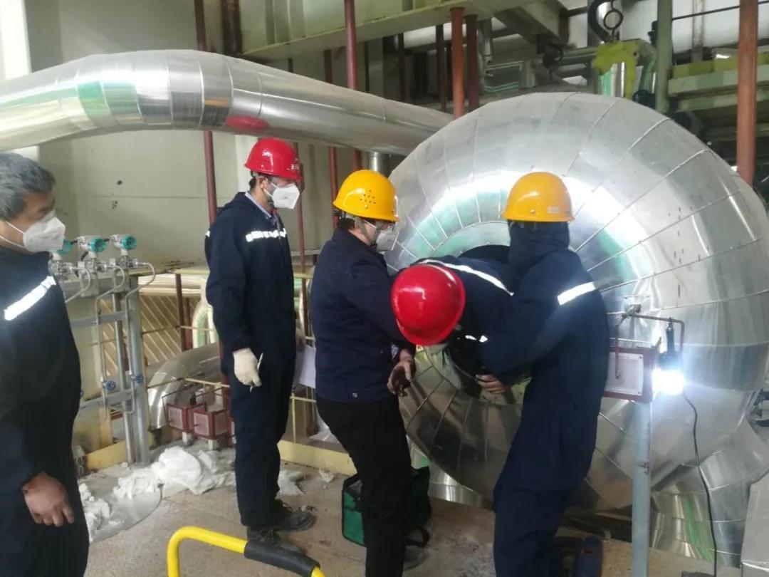 項目動態|甘肅慶陽市生活垃圾焚燒發電廠點火調試