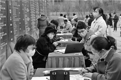春節后寧波規模最大的現場招聘會昨舉行 平均月薪超5000元