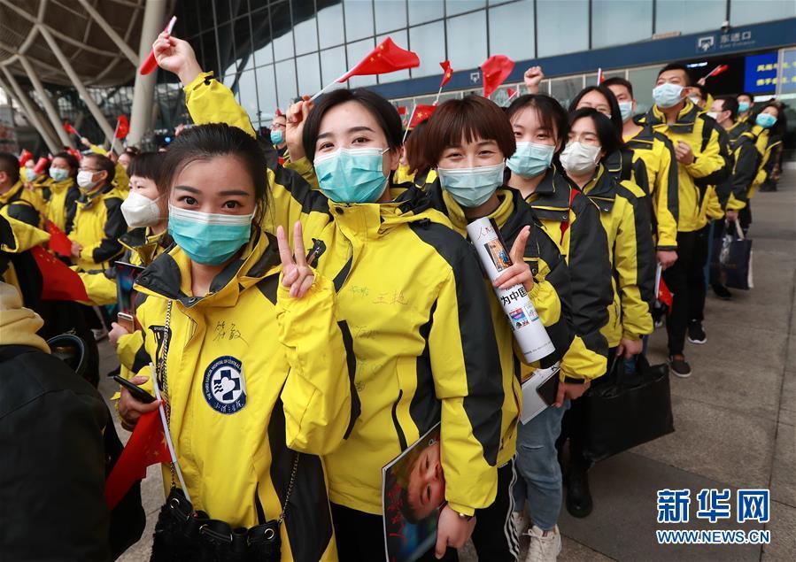 湘雅三醫院國家醫療隊援鄂隊員返程